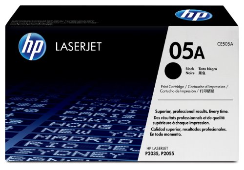 HP 05A (CE505A) Black Original Toner Cartridge by HP