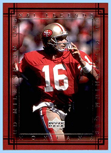 2000 Upper Deck Legends Millennium QBs #M1 Joe