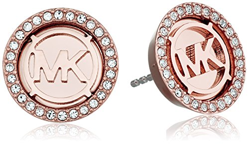 Michael Kors Rose Gold Tone Stud Earrings