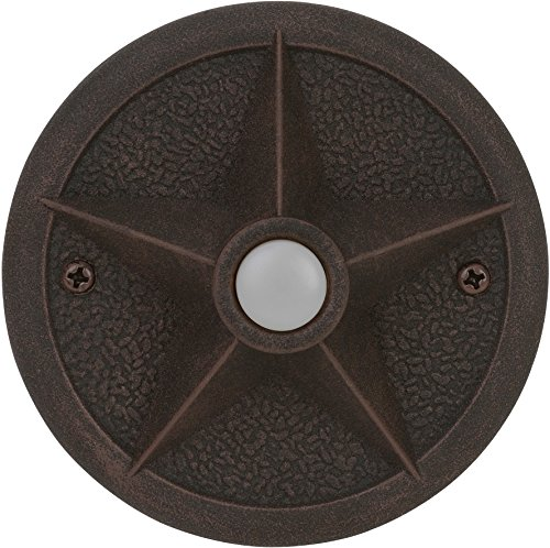 Price comparison product image Craftmade PB3036-RT Surface Mount Star Lighted Push Button