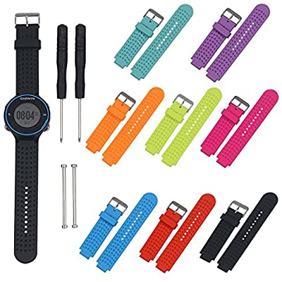 Replacement Bands and Straps for Garmin Forerunner 220 235 735XT GPS Running Watch