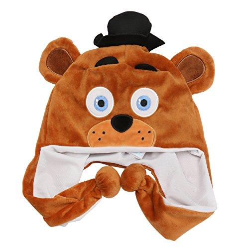[Five Nights at Freddy's Plush Hat Freddy Fazbear for Kids] (Mangle Costume Ideas)