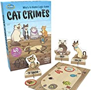 ThinkFun Cat Crimes Brain Game and Brainteaser for Boys and Girls Age 8 and Up - A Smart Game with a Fun Theme