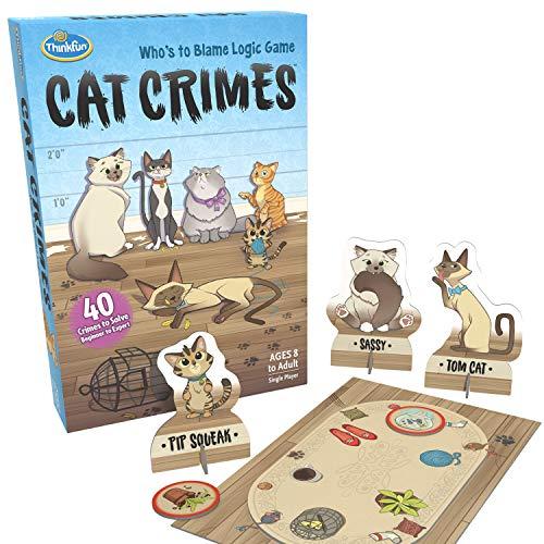 ThinkFun Cat Crimes Brain