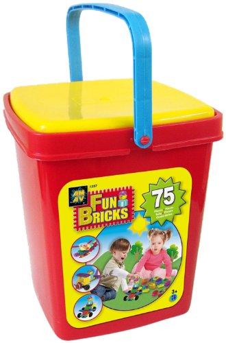 AMAV Fun Bricks 75 Piece Bucket