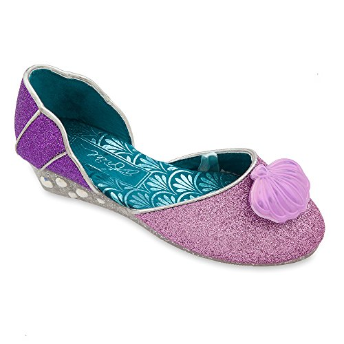 Disney Ariel Costume Shoes for Girls Size 7/8 TODLR -