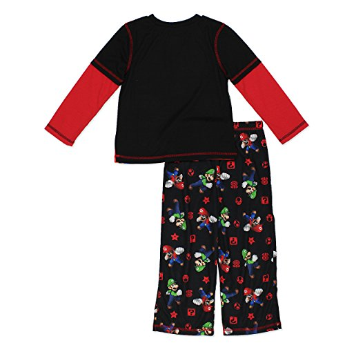 Komar Kids Super Mario Boys Pajamas (Little Kid/Big Kid)