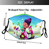 ab-by hat-cher Reusable Face Cover With Filter
