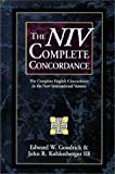 img - for The Niv Complete Concordance: The Complete English Concordance to the New International Version book / textbook / text book