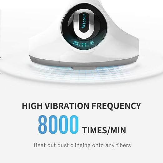 Vacplus Handheld Vacuum Mattress and Carpet Corded Bed Vacuum for Sofa Dust Vacuum with UV Light Effectively Remove Dirt