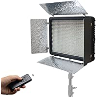 Mcoplus LED-520B Bi-color 3500LM CRI95 Studio LED Lights with 2.4Ghz Wireless Remote Control Photo LED Light for DV Camera Comcorder Video Photography Lighting