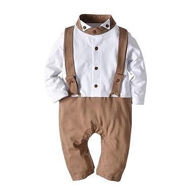97dc46082ea Amazon.com  Infant Baby Romper