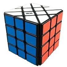 New, YJ MoYu AoSu 4x4x4 Fisher Cube Black by MoYu