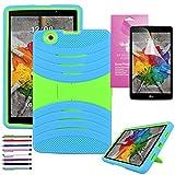 lg 3 tablet cases - LG G Pad 3 8.0 /G Pad X 8.0 Case, EpicGadget(TM) V520/V521/V522/V525 Heavy Duty Hybrid Cover Case with Full Protection For LG Gpad X 8.0