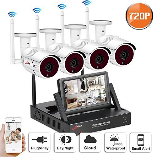 1080P NVR Wireless Security Camaras System for Video Came...
