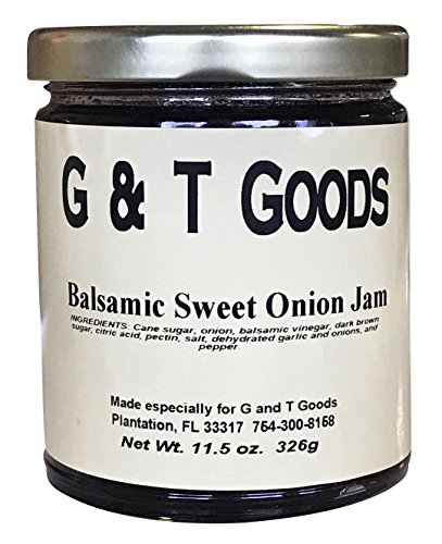 Balsamic Sweet Onion Jam, 10.5 oz (Pack of 2) Balsamic Sweet Onion Jam.
