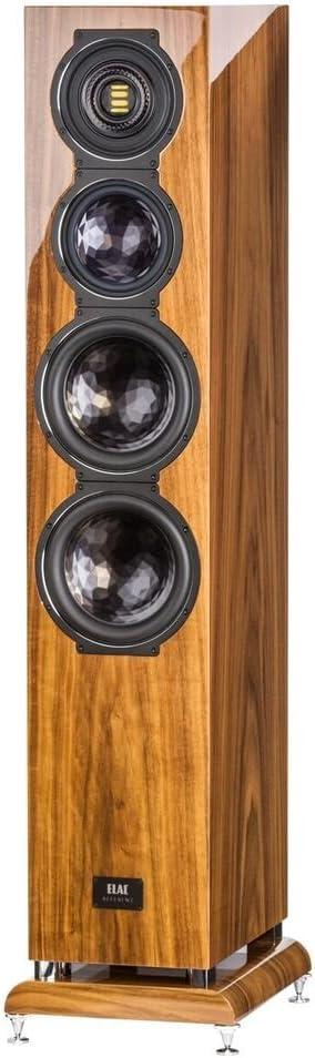 B01BY01O4K ELAC FS509VX Floor Standing Home Speaker (Walnut) 51H2RkhpH3L.SL1024_