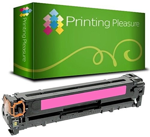 Printing Pleasure Compatible CF383A 312A Toner Cartridge for HP Colour LaserJet Pro MFP M476DN M476DW M476NW - Magenta, High Yield