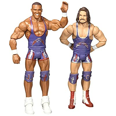 WWE Jason Jordan and Chad Gable (American Alpha) Action Figures (2 Pack): Toys & Games