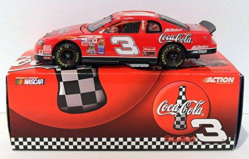 Stock Cola Coca - Action 1/24 Scale C52539 - Dale Earnhardt Coca Cola 1998 Monte Carlo Stock Car