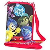 Disney Pixar Inside Out Lanyard with Cellphone Case/ID Holder or Coin Purse (Black)