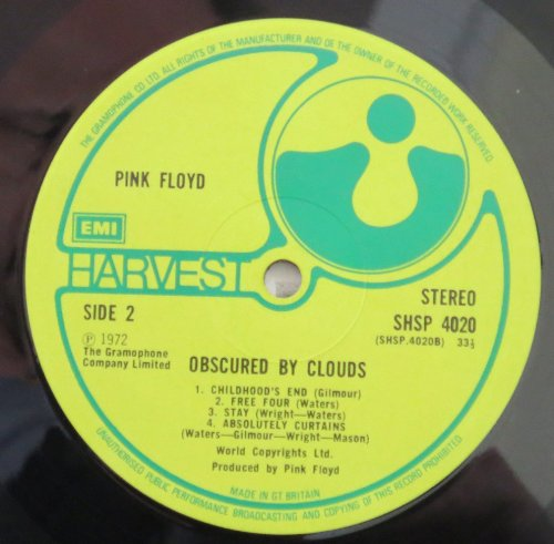Curtains Ideas absolutely curtains pink floyd : Pink Floyd - Obscured By Clouds (UK 1st pressing vinyl LP in ...