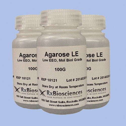 Low Melting Point Agarose 25G - Molecular Biology Grade, P05-SR02-25 by RxBiosciences