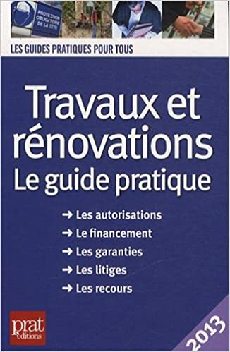 Livres gratuits en ligne Travaux et rénovations 2013 pdf, epub ebook