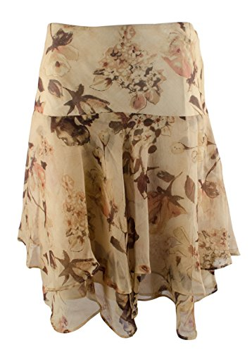 Lauren Ralph Lauren Women's Floral Georgette Skirt-TM-14