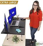Stand Steady Mega and Original Standing Desk - Stand Up Desk Topper (Mega (39.5'' x 22''))