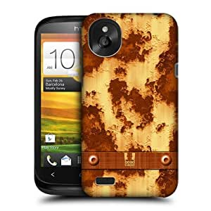 Head Case Designs Rusty Metal Industrial Textures Protective Snap-on Hard Back Case Cover for HTC Desire X by icecream design