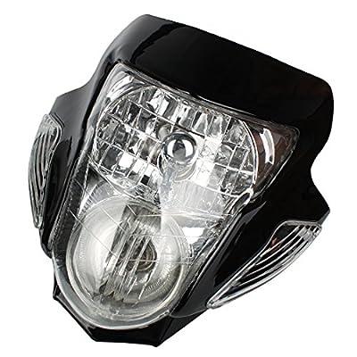 Andux Land Motorcycle Headlight Turn Signal Lights with Housing DDZ-02