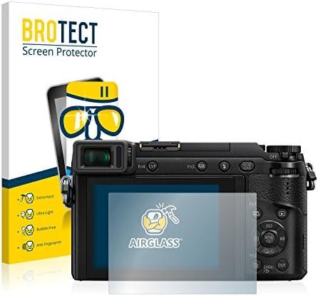 3 Unidades - Cristal Vidrio 9H AirGlass BROTECT Protector Pantalla Cristal para Panasonic Lumix DMC-G7