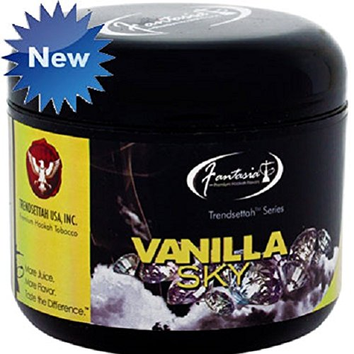 Fantasia Shisha Molasses Premium Flavors 200g For Hookah (Vanilla Sky)