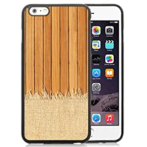DIY TPU Phone Case Wood Floor Texture Carpet iPhone 6 Plus 5.5 inch Wallpaper