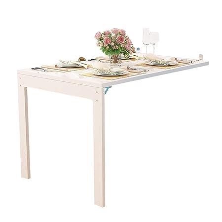 mesa plegable YXX Pared Escritorio de Mesa Convertible Plegable ...