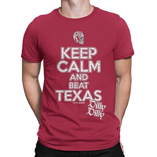 Rival Gear Oklahoma Sooners Fan T-Shirt, Keep Calm, Dilly Dilly by (XL) - Oklahoma Fan