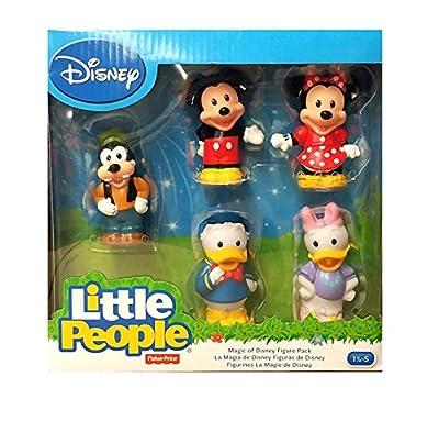 Fisher-Price Little People - MAGIC OF DISNEY Figure Giftset - 5 Classic Disney Figures