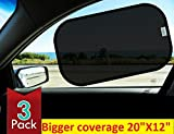 Image of Car Sun shade(3px)-80 GSM for Maximum UV protection-Extra large-20