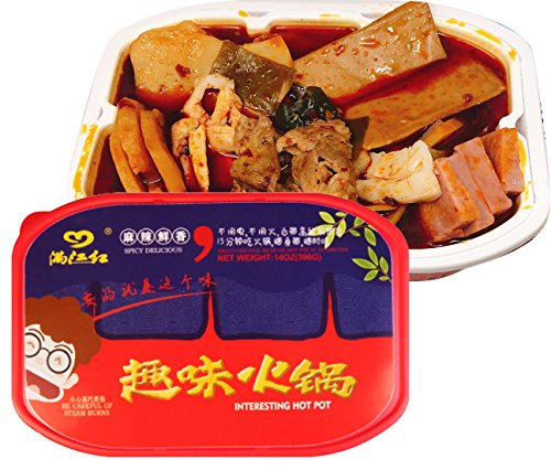 Price comparison product image MANJIANGHONG Instant Spicy Hot Pot Comdiment (Vegetable oil) 396g