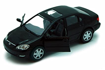 Buy Kinsmart Toyota Corolla, Black 5099D 36 Scale Diecast Model Toy