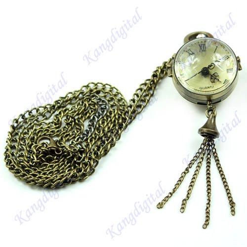 Pocket Watches Bronze Tone - 7