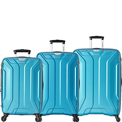 (Samsonite Englewood 3 Piece Expandable Hardside Spinner Luggage Set)