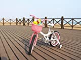 Colorbasket Kid's Front Handlebar Bike Basket,Pink