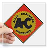 """CafePress - Allis Chalmers Sticker - Square Bumper Sticker Car Decal, 3""""x3"""" (Small) or 5""""x5"""" (Large)"""