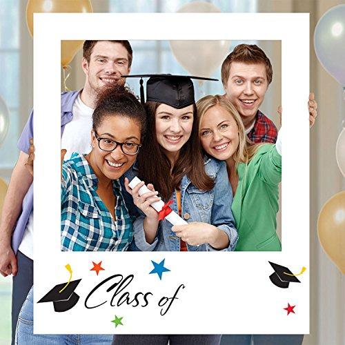 Amscan Graduation Polariod Frame Set   Party Favor   1 Set, One Size, Multicolor -