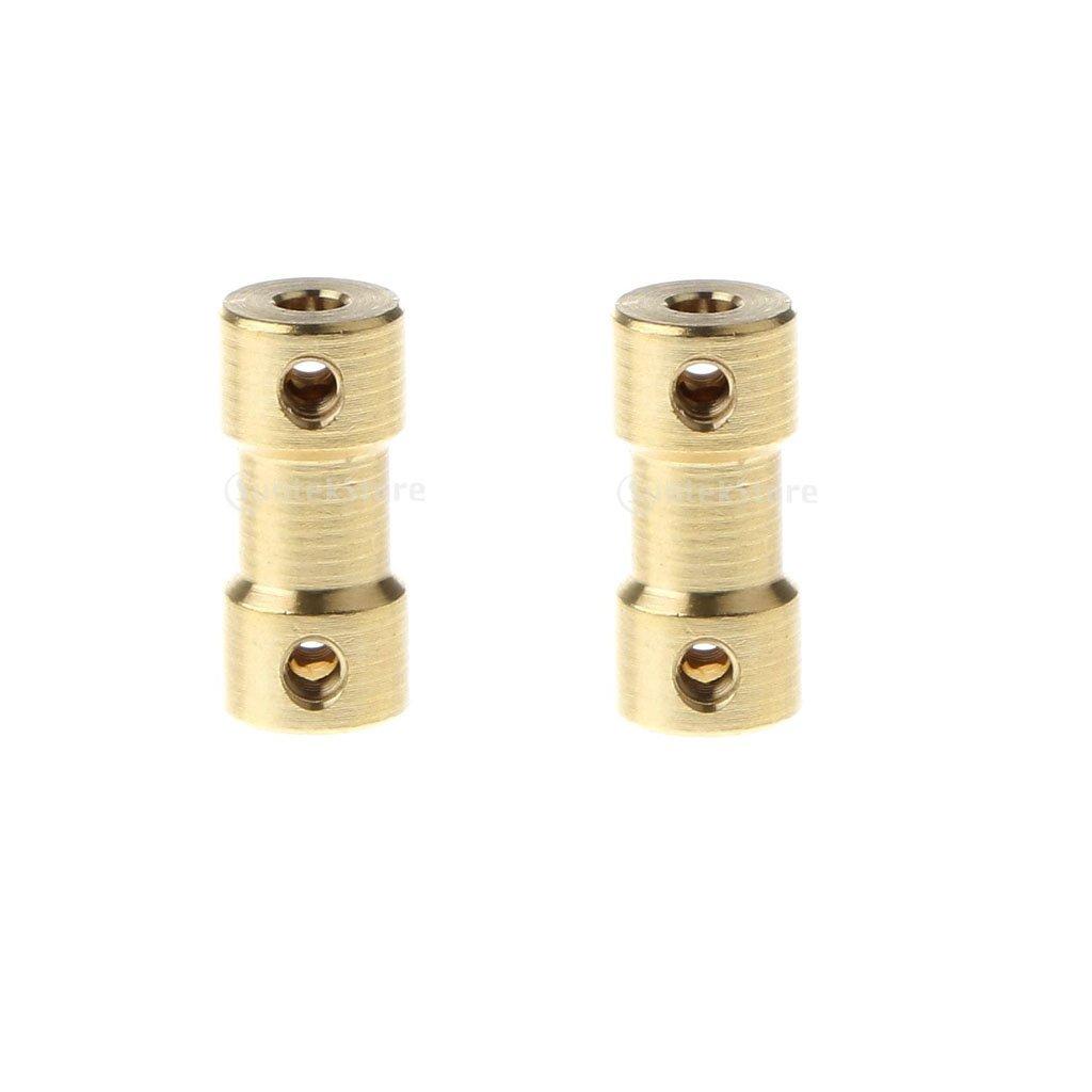 Homyl 2x 3.17mm 3mm Accoppiatore di Accoppiamento Accessori