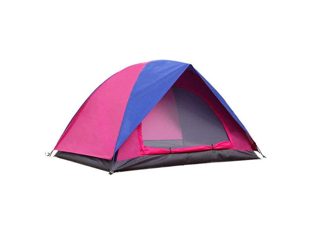 EP-Tent Outdoor Camping Zelt, Doppel-Layer Couple Camping Regenschutz Sonnencreme Insektenproof Beach Camping Cap Zelt, Geeignet Für 23  Herrenchen, 83