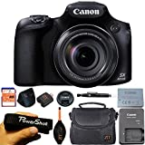 Canon PowerShot SX60 HS 16.1MP Digital Camera with 65x Optical Zoom and Built-in WiFi/NFC (Basic Kit)