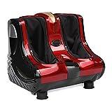 ZENY Shiatsu Kneading Rolling Foot Leg Calf Massager Massage Machine Personal Health Studio Leg Beautician, Christmas Gift